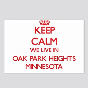 Keep calm we live in Oak Postcards (Package of 8)
