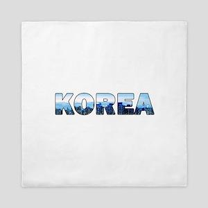 Korea 001 Queen Duvet