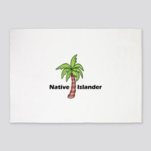 Native Islander 5'x7'Area Rug