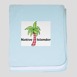 Native Islander baby blanket