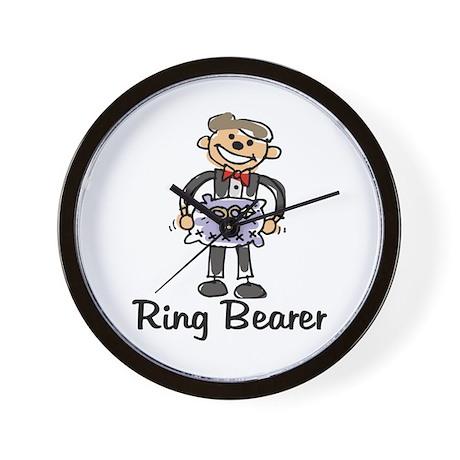 Cartoon Ring Bearer Wall Clock
