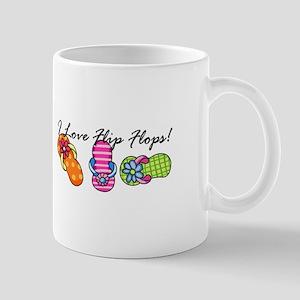 I Love Flip Flops Mugs
