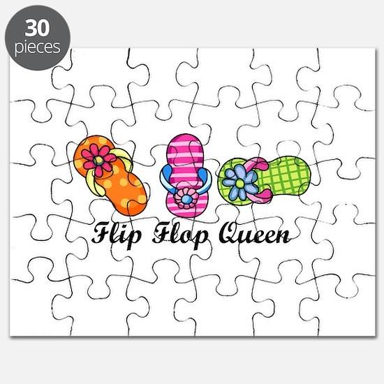 Flip Flop Queen Puzzle