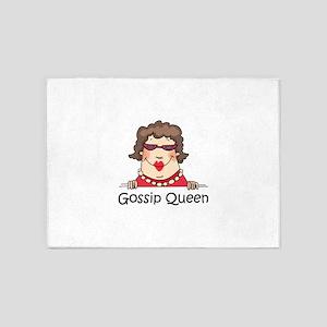 Gossip Queen 5'x7'Area Rug