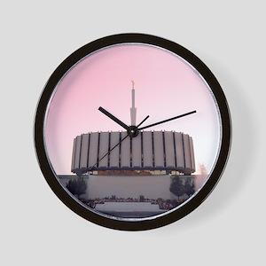 LDS Ogden Utah Temple Wall Clock