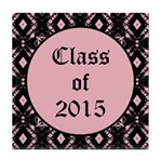 Class of 2015 Pink Pointe Tile Coaster