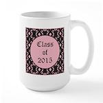 Class of 2015 Pink Pointe Large Mug