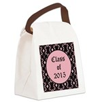 Class of 2015 Pink Pointe Canvas Lunch Bag