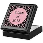 Class of 2015 Pink Pointe Keepsake Box