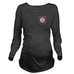 Class of 2015 Pink P Long Sleeve Maternity T-Shirt