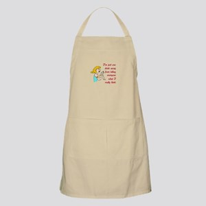 ONE DRINK AWAY Apron