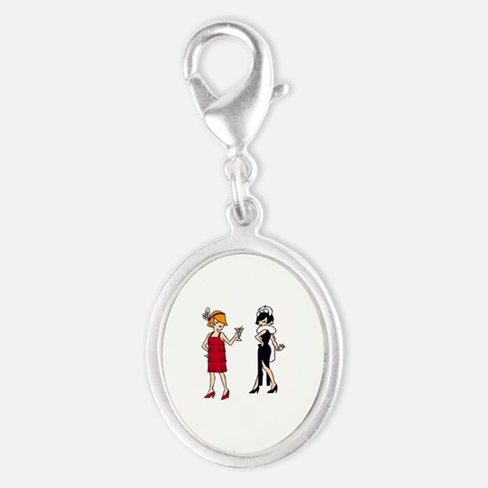VINTAGE FASHION FLAPPERS Charms