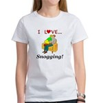 I Love Snogging Women's T-Shirt