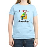 I Love Snogging Women's Light T-Shirt
