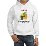 I Love Snogging Hooded Sweatshirt