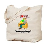 I Love Snogging Tote Bag