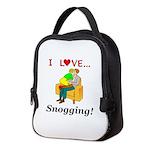 I Love Snogging Neoprene Lunch Bag