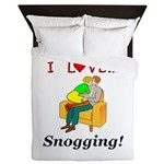 I Love Snogging Queen Duvet