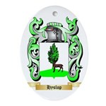 Hyslop Ornament (Oval)