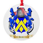 Hyde Round Ornament