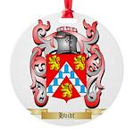 Hvidt Round Ornament