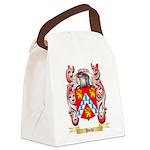 Hvidt Canvas Lunch Bag