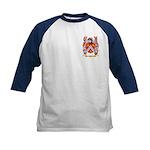 Hvid Kids Baseball Jersey