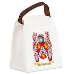 Hvid Canvas Lunch Bag