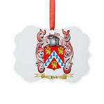Hvid Picture Ornament