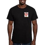 Huzzey Men's Fitted T-Shirt (dark)