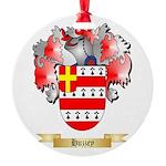 Huzzey Round Ornament