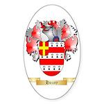 Huzzey Sticker (Oval)