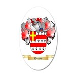 Huzzey 20x12 Oval Wall Decal