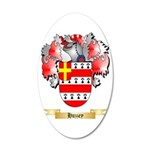 Huzzey 35x21 Oval Wall Decal