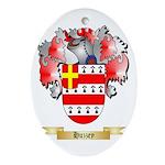 Huzzey Ornament (Oval)