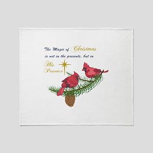 THE MAGIC OF CHRISTMAS Throw Blanket