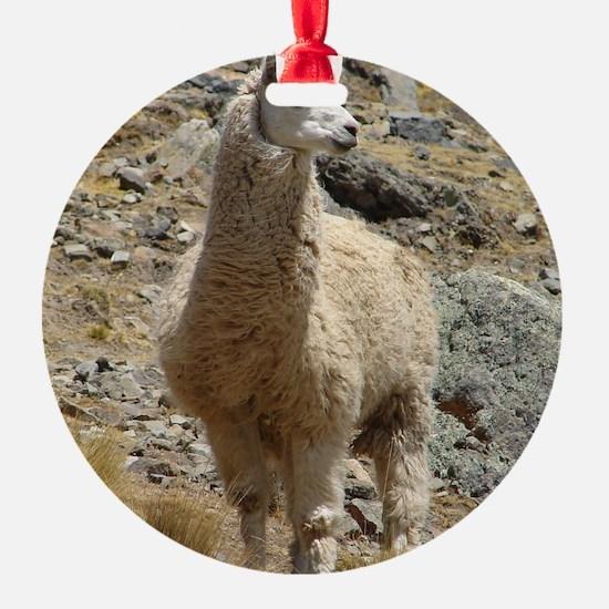 Llama Sentinal Ornament