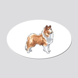 ROUGH COLLIE Wall Decal