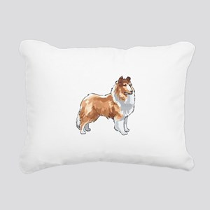 ROUGH COLLIE Rectangular Canvas Pillow