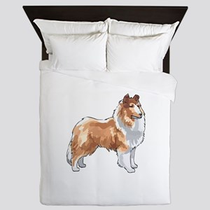 ROUGH COLLIE Queen Duvet