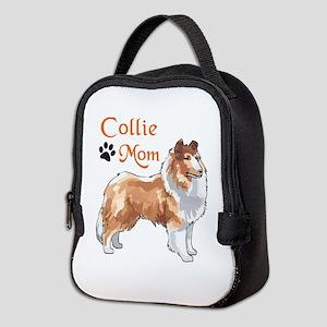 COLLIE MOM Neoprene Lunch Bag