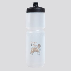 COLLIE MOM Sports Bottle