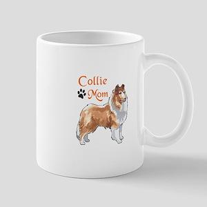 COLLIE MOM Mugs