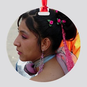 Cochabamba Beauty Round Ornament