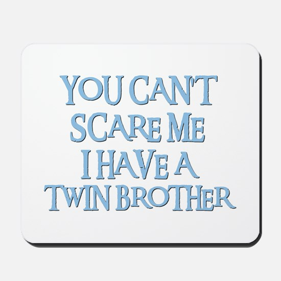 TWIN BROTHER Mousepad