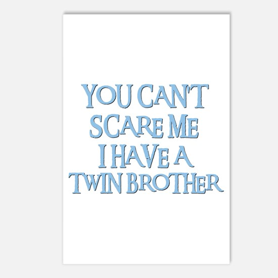 TWIN BROTHER Postcards (Package of 8)
