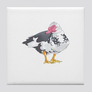 MUSCOVY DUCK Tile Coaster