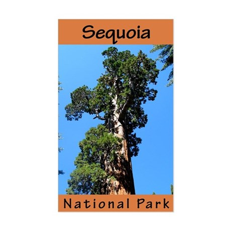 Sequoia NP (Vertical) Rectangle Sticker