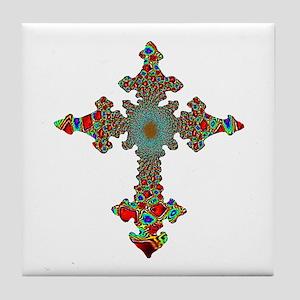 Jewel Cross Tile Coaster