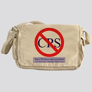 Stop CPS Abuse Messenger Bag